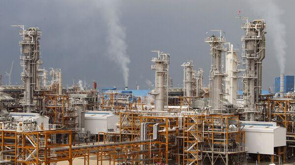 İran'ın Assaluyeh doğalgaz tesisi - Sputnik Türkiye