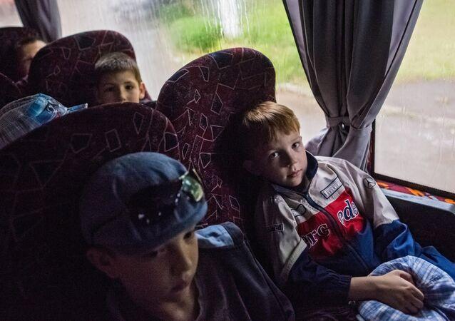 Slavyansk tahliye - Uglerovsk'ta tahliye başladı