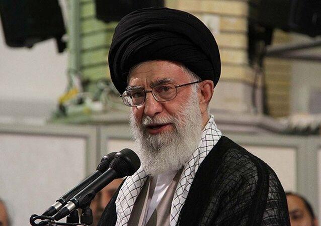 İran dini lideri Ayetullah Ali Hamaney