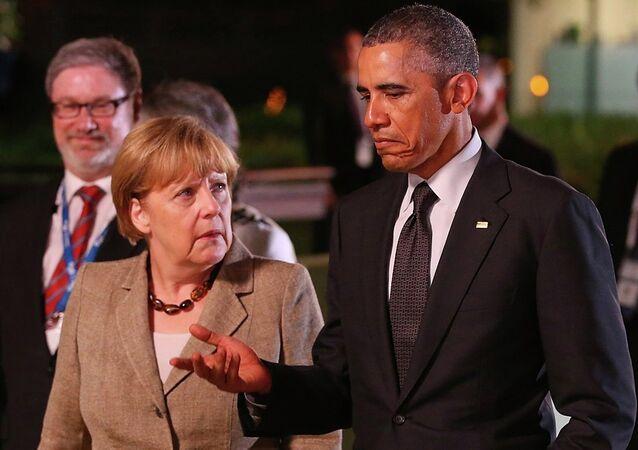 Angela Merkel-Barack Obama