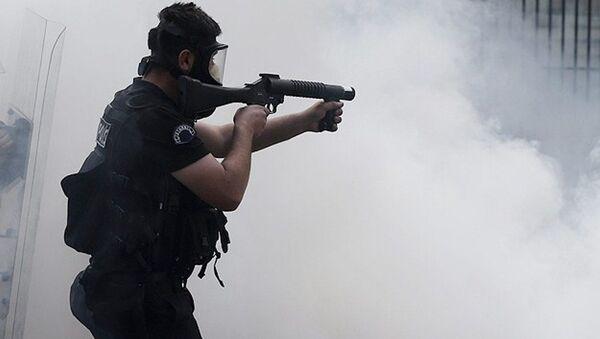 Polis-Biber gazı - Sputnik Türkiye