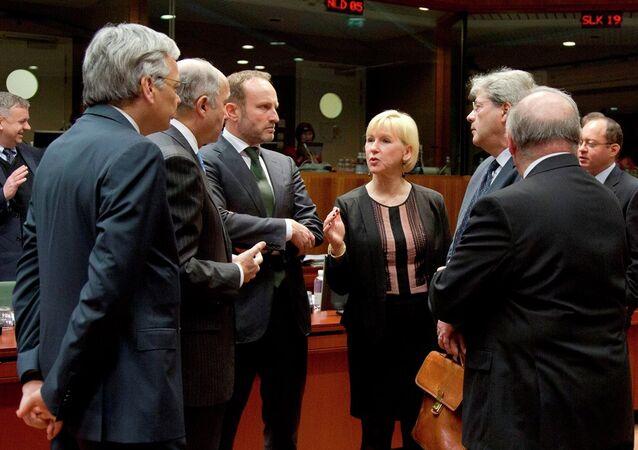 AB dışişleri bakanları toplantısı  - Avrupa Rusya yaptırım