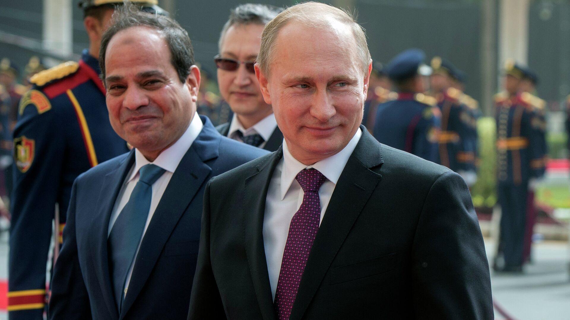 Rusya Devlet Başkanı Putin'in Mısır ziyareti - Sputnik Türkiye, 1920, 26.08.2021