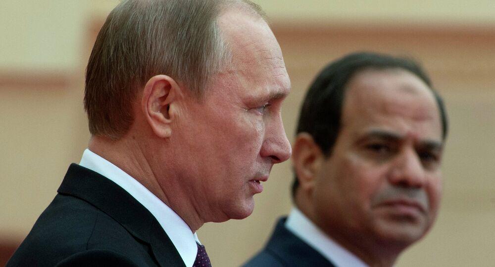 Vladimir Putin-Abdülfettah El Sisi
