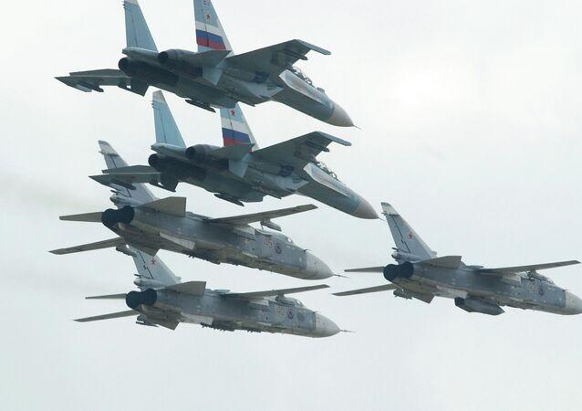 Su-24 savaş uçağı