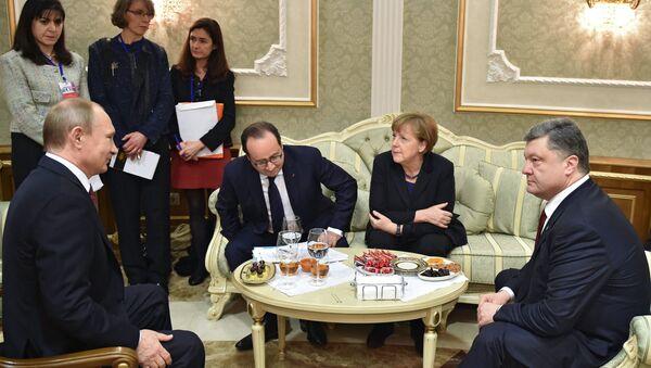 Minsk görüşmeleri - Sputnik Türkiye
