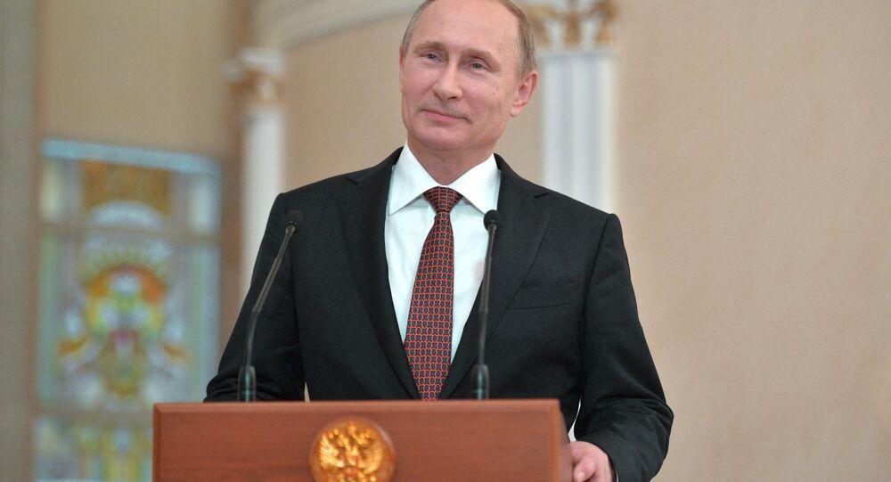 Rusya Devlet Başkanı Vladimir Putin - Minsk