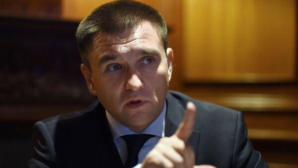 Ukrayna Dışişleri Bakanı Pavel Klimkin - Sputnik Türkiye