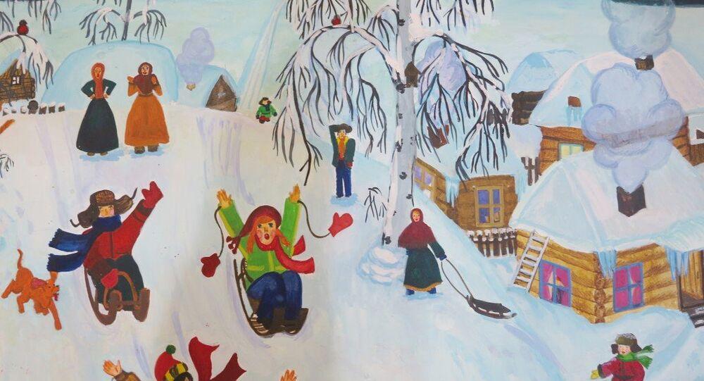 Türkiyeli 'küçük ressamlar', Moskova'ya bekleniyor