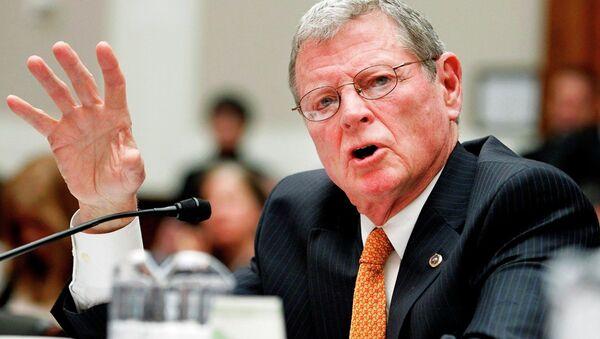 ABD Cumhuriyetçi Senatör James Inhofe - Oklahoma - Sputnik Türkiye