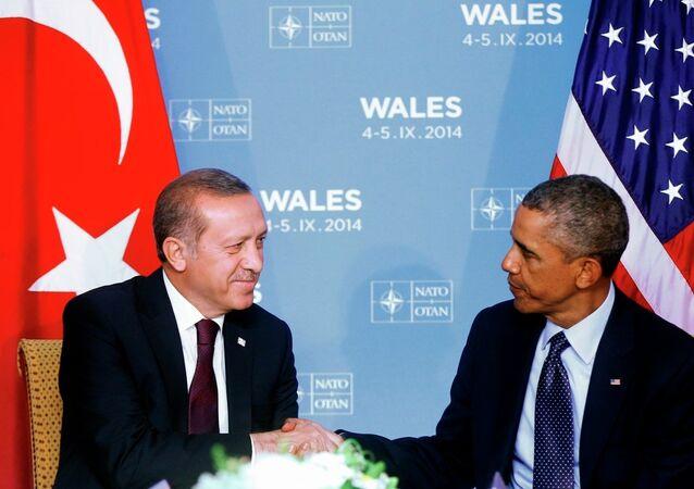 Türkiye Cumhurbaşkanı Recep Tayyip Erdoğan ve ABD Başkanı Barack Obama