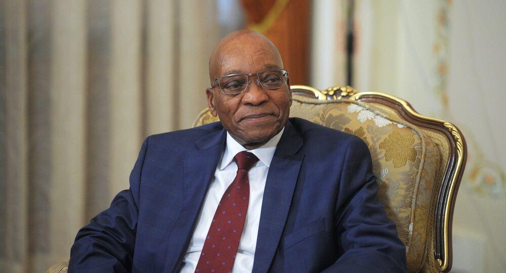 Güney Afrika Devlet Başkanı Jacob Zuma