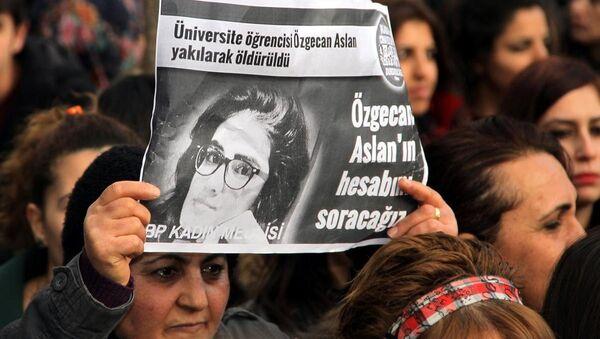 Üniversite öğrencisi Özgecan'ın öldürülmesi - Sputnik Türkiye