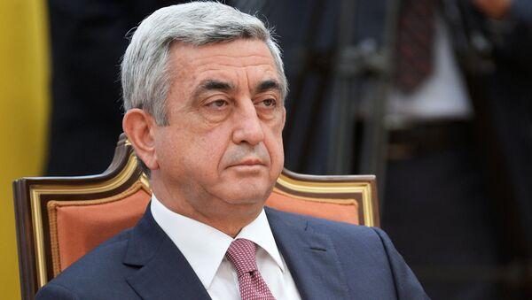 Serj Sarkisyan - Sputnik Türkiye