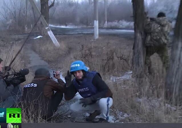 Russia Today ekibi, saldırı