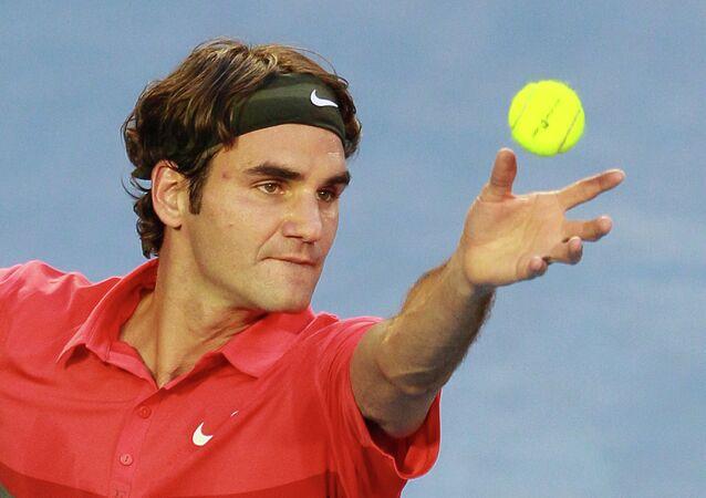 İsviçreli raket Foger Federer