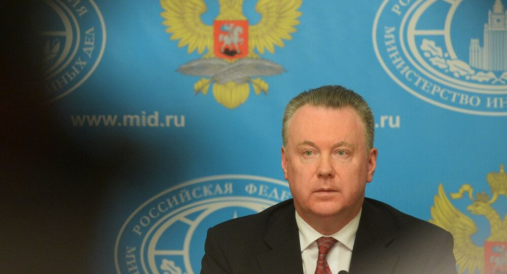 Rusya'nın Avrupa Güvenlik ve İşbirliği Teşkilatı (AGİT) Daimi Yetkilisi Aleksandr Lukaşeviç