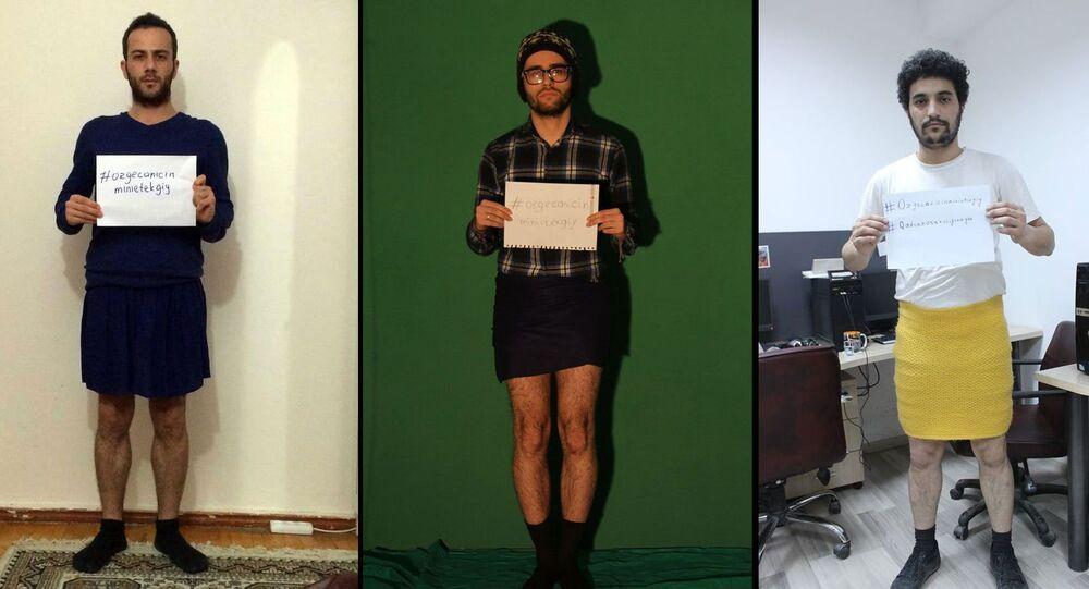 'Özgecan için mini etek giy' kampanyası