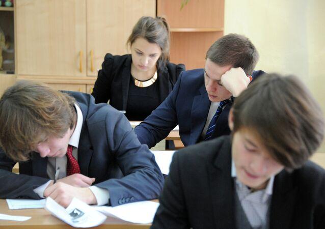Okulda sınav