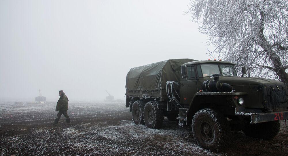 Debaltsevo yakınlarında