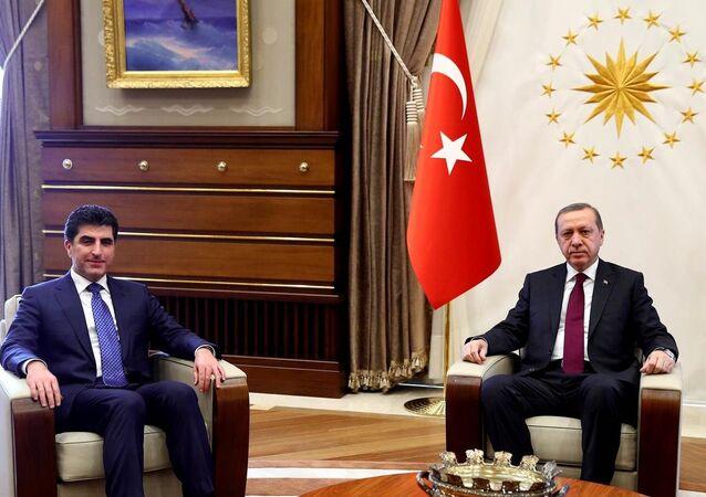 Recep Tayyip Erdoğan- Neçirvan Barzani