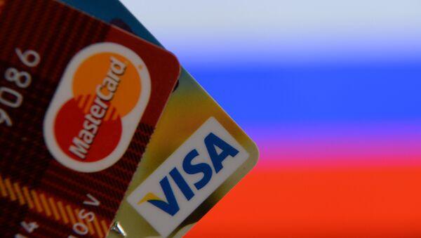 VISA ve MasterCard kartları - Sputnik Türkiye