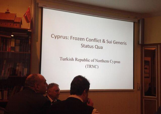 'Kıbrıs meselesi :  'Tanınmayan devletler için dersler'  semineri