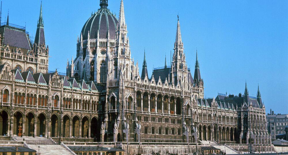 Budapeşte'de Parlamento binası