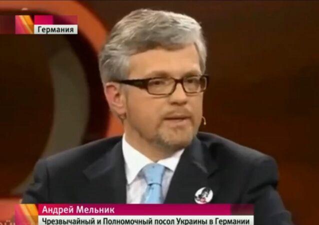 Ukrayna'nın Almanya Büyükelçisi Andrey Melnik