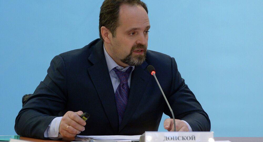 Rusya Tabii Kaynaklar ve Ekoloji Bakanı Sergey Donskoy