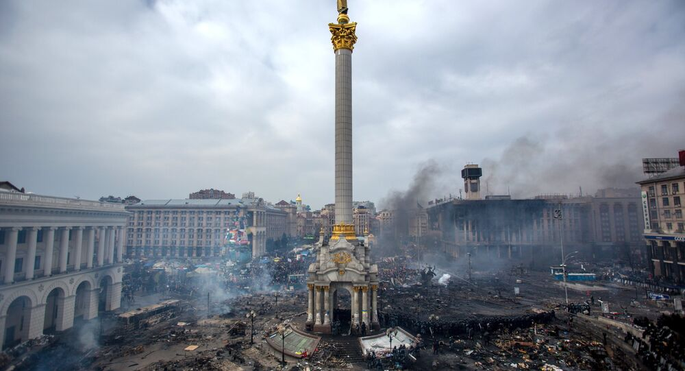 Ukrayna'nın başkenti Kiev'deki Maydan protestoları