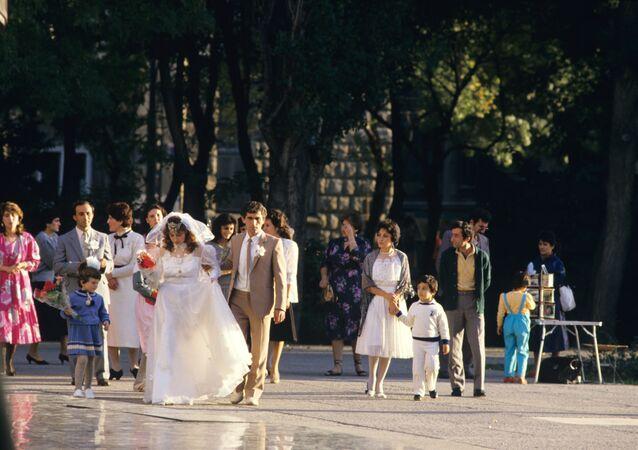 Bakü'de bir düğün