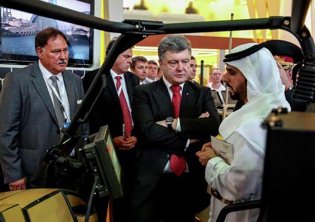 Ukrayna Devlet Başkanı Pyotr Poroşenko, Birleşik Arap Emirlikleri'nde