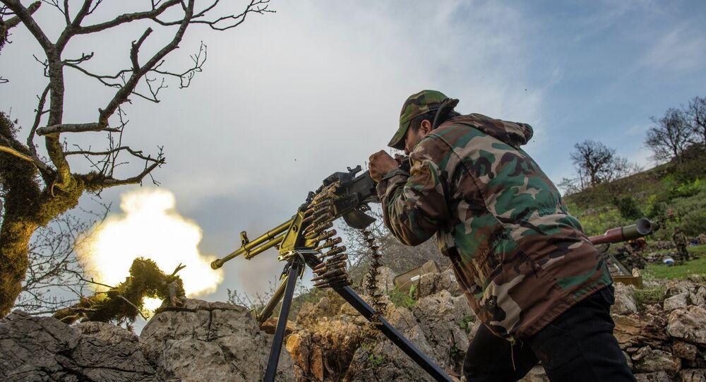 Suriye ordusu askeri