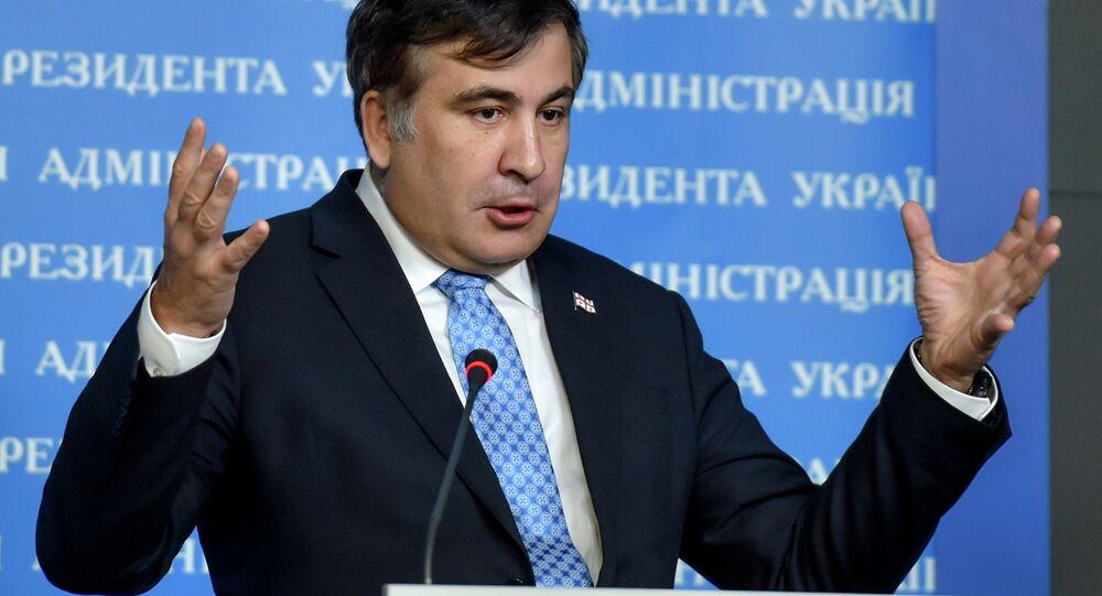 Eski Gürcistan Devlet Başkanı Mihail Saakaşvili
