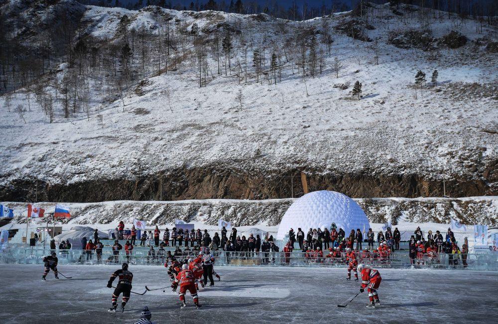 ''Ulusal Hokey Ligi (NHL) Alanı Baykal' Hokey Festivali'nin katılımcıları