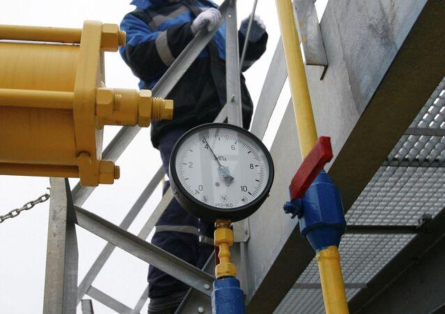 Gazprom'un gaz istasyonu