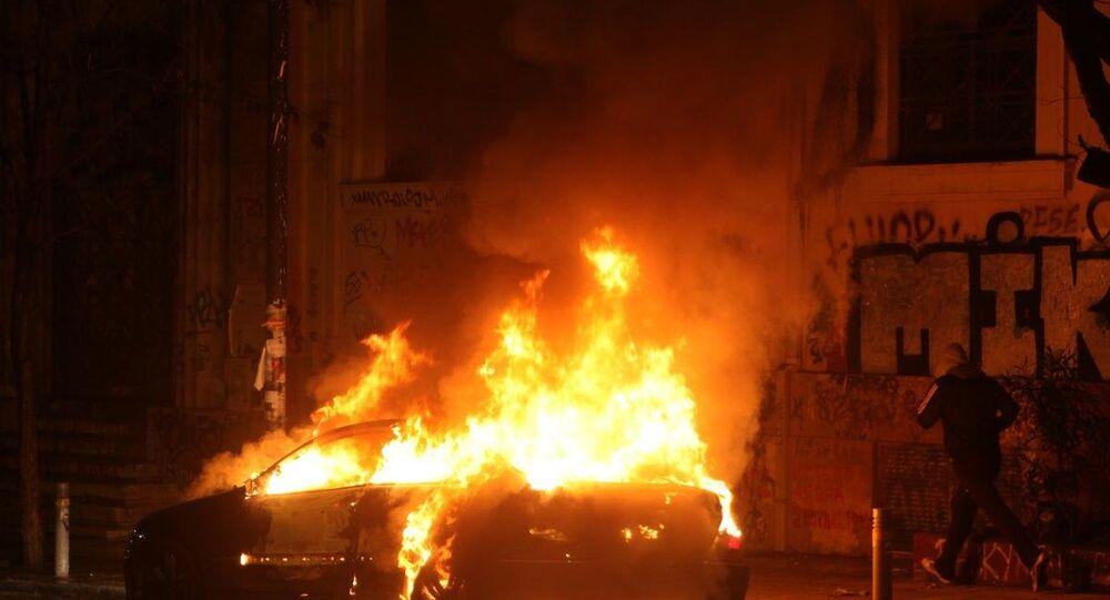 Atina protesto