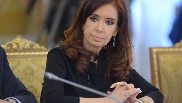 Arjantin lideri Cristina Fernandez de Kirchner - Sputnik Türkiye