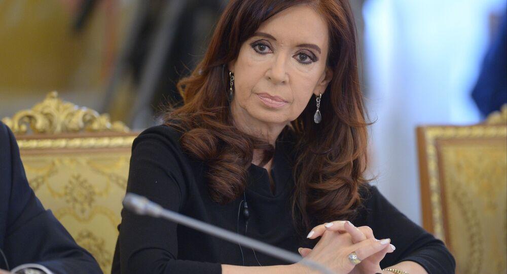 Arjantin lideri Cristina Fernandez de Kirchner