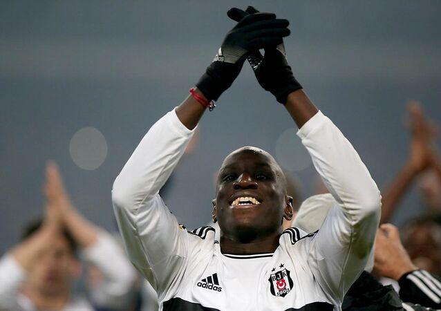 Beşiktaşlı oyuncu Demba Ba