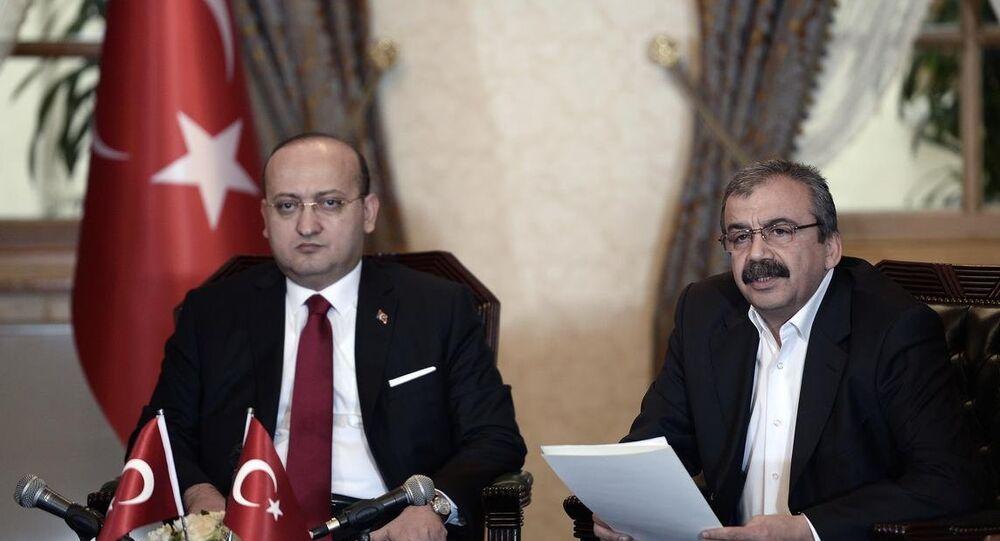 Başbakan Yardımcısı Yalçın Akdoğan - HDP İstanbul Milletvekili Sırrı Süreyya Önder