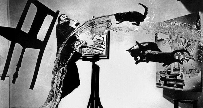 Dali Atomicus New York, ABD, 1948 © Philippe Halsman / Magnum Photos