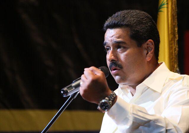Venezüella Cumhurbaşkanı Nicolas Maduro