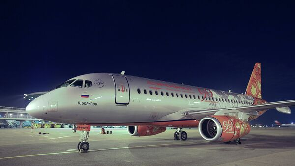 Sukhoi Superjet 100 - Sputnik Türkiye