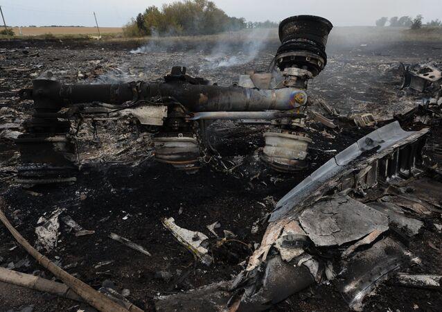 MH-17 enkazı
