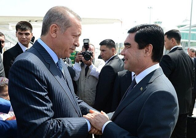 Türkmenistan Devlet Başkanı Berdimuhammedov