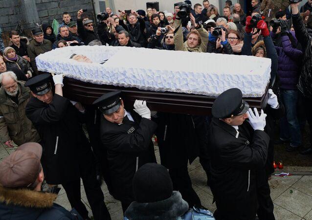 Boris Nemtsov cenaze töreni