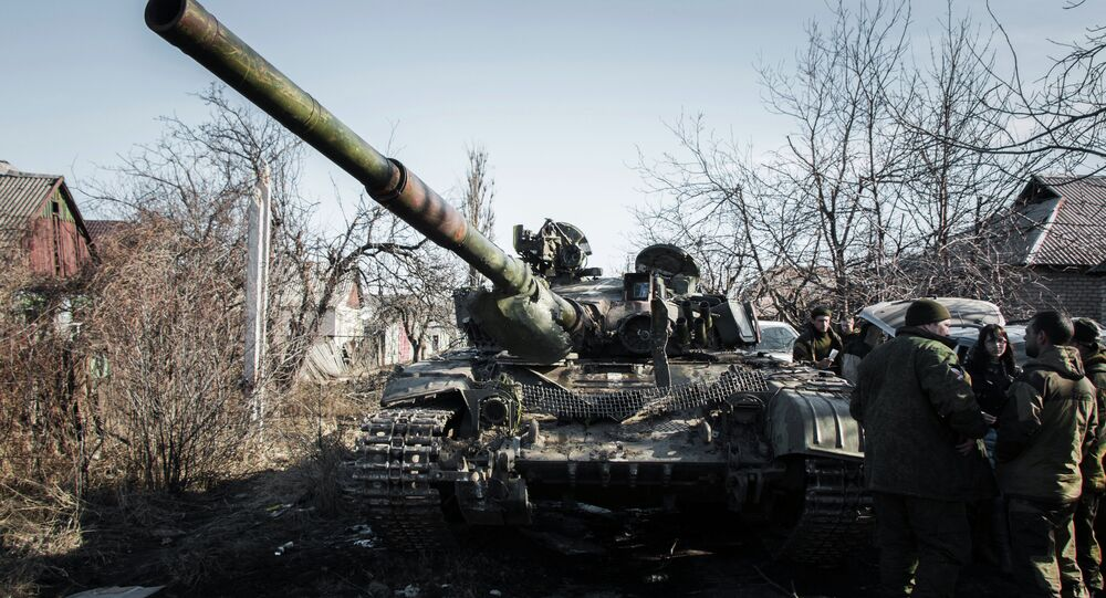 Ukrayna Debaltsevo