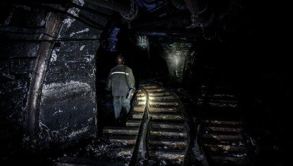 Donetsk'te maden kazası - Sputnik Türkiye